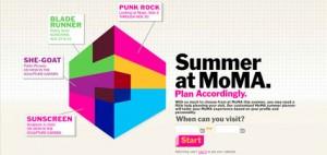 Summer At MoMA Graphic